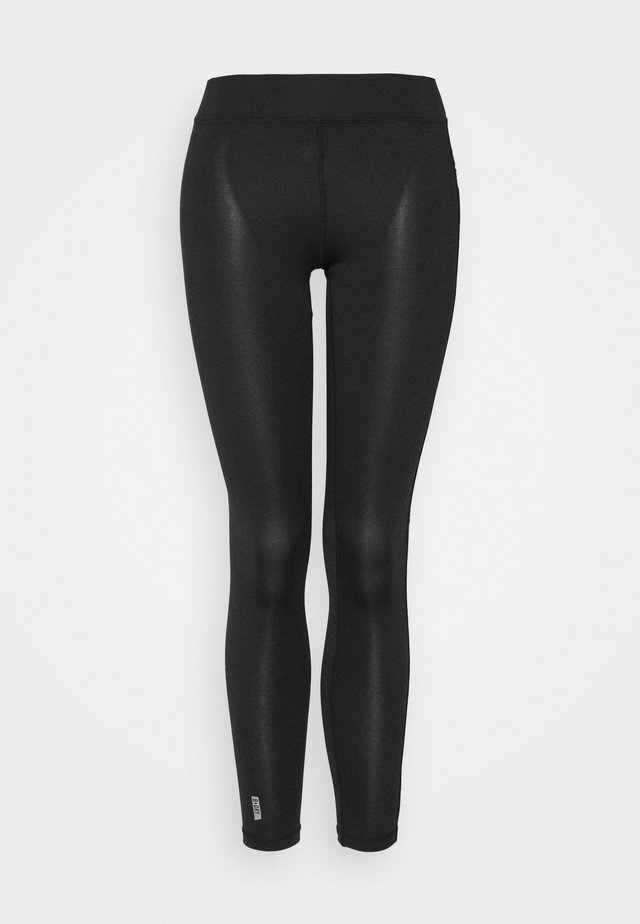ONPADREY TRAINING TIGHTS - Leggings - black/white