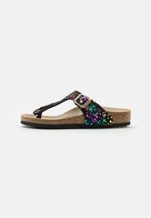 GIZEH KIDS CONFETTI POP - T-bar sandals - black