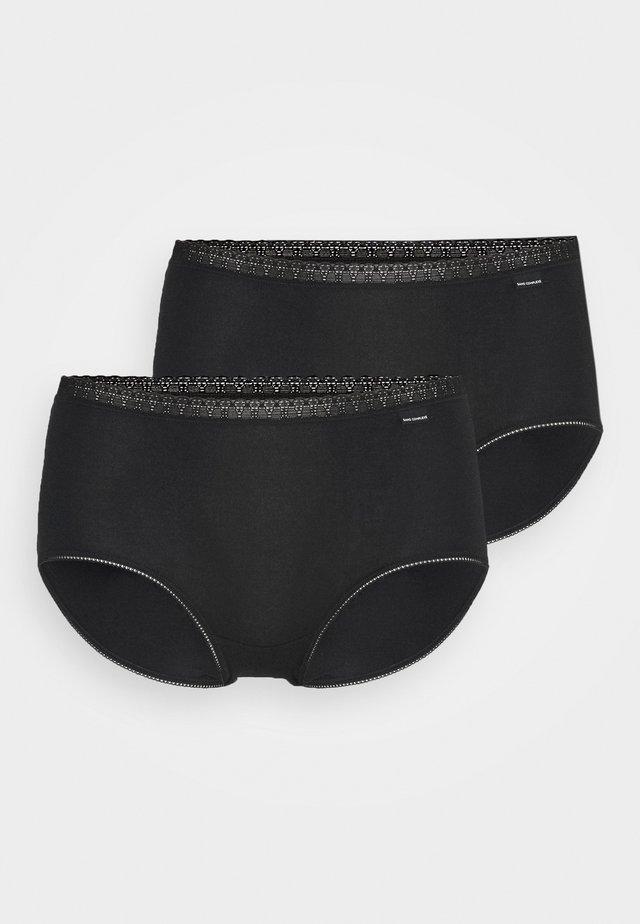 CLASSIQUE TAILLE MEDIUM 2 PACK - Kalhotky - noir
