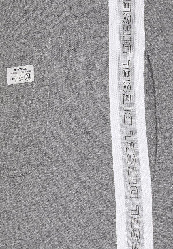 Diesel PETER TROUSERS - Spodnie treningowe - dark grey melange/szary Odzież Męska KKIV