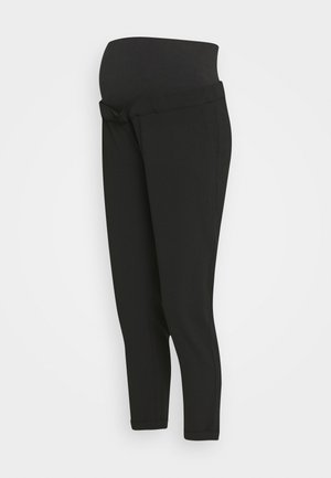 PANT MORBIDO - Trousers - black