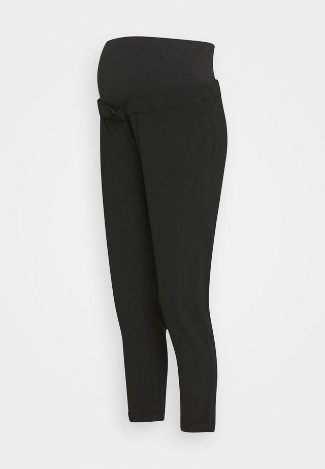 PANT MORBIDO - Trousers - black