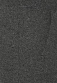Pier One - Träningsbyxor - mottled dark grey - 2