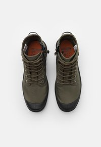 Palladium - PAMPA RCYCL LT WP UNISEX - Lace-up ankle boots - olive night - 3