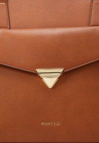 Anna Field - Laptop bag - cognac - 4