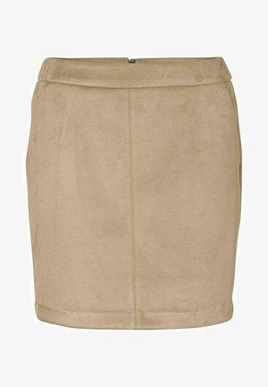 A-line skirt - safari