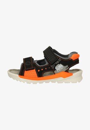 Walking sandals - schwarz/grau 093