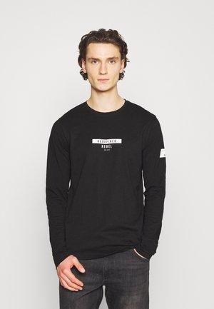 GUTI TEE - Långärmad tröja - black
