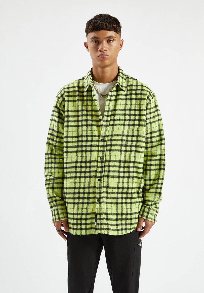 PULL&BEAR - Shirt - light green