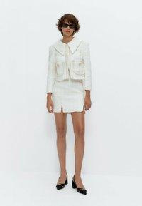 Uterqüe - Summer jacket - white - 1