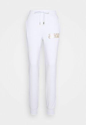 PANTS - Joggebukse - white