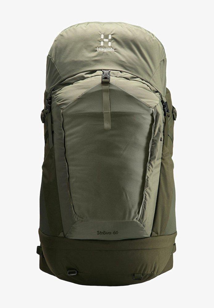 Haglöfs - STRÖVA 65 - Hiking rucksack - sage green/deep woods m-l