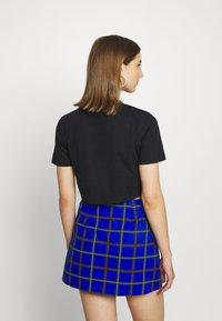 adidas Originals - CROPPED TEE - T-shirt - bas - black - 2