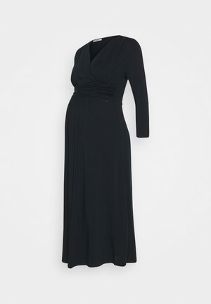 DRESS NURSING GOTS - Jersey dress - navy