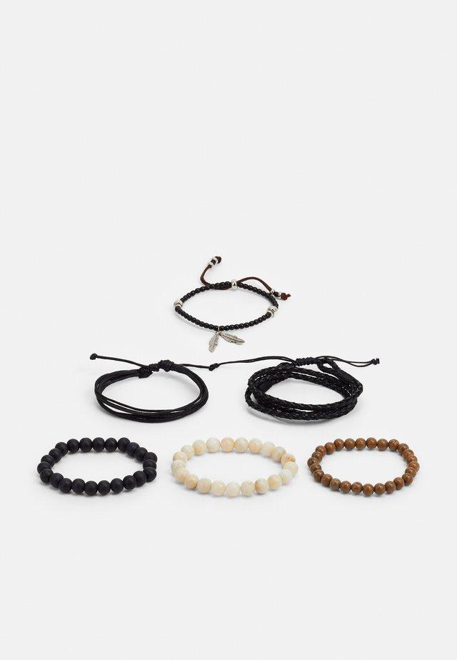 DOAKTOWN 6 PACK - Bracelet - black