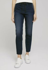 TOM TAILOR - Relaxed fit jeans - mid stone wash denim - 0