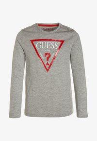 Guess - Long sleeved top - light heather grey - 0