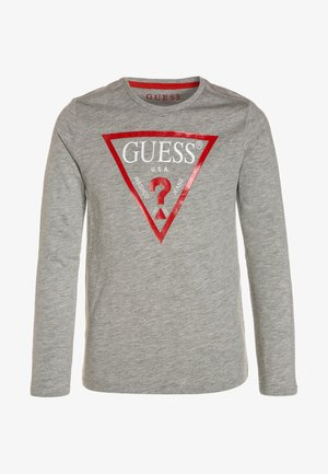 Topper langermet - light heather grey