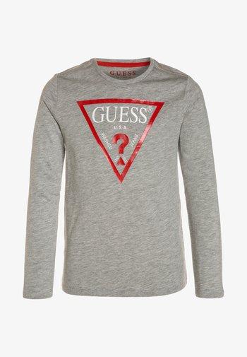 Long sleeved top - light heather grey