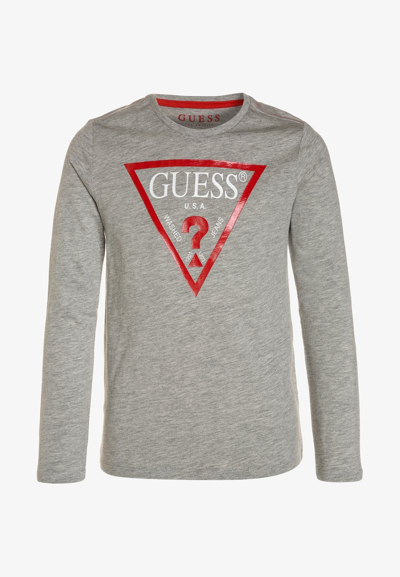 Guess - Topper langermet - light heather grey