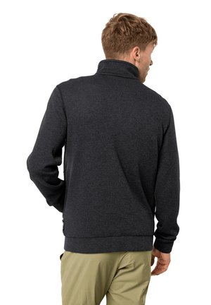 FINLEY  - Fleece jacket - black