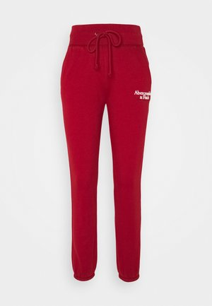 SCRIPT CLASSIC  - Tracksuit bottoms - red