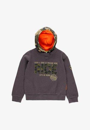 plüsch mit mütze - Hoodie - anthracite