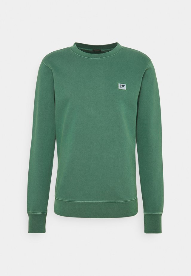 APPLIQUE  - Sweater - shady glade green