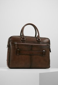 Bugatti - BRIEFBAG LARGE - Briefcase - brown - 2