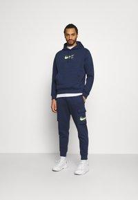 Nike Sportswear - HOODIE AIR  - Felpa con cappuccio - midnight navy - 1