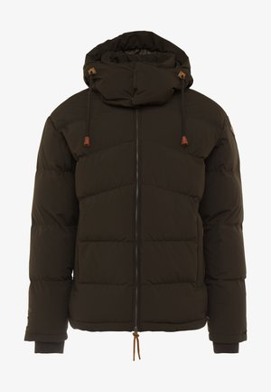 ALBI - Down jacket - dark green