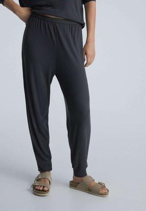 SOFT TOUCH CUFFED  - Nattøj bukser - dark grey