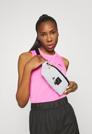 WOMENS WAIST BAG - Ledvinka - white fizzy yellow/glowing pink