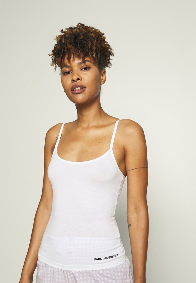 LOGO SINGLET - Undershirt - white