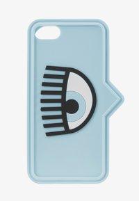 CHIARA FERRAGNI - EYELIKE COVER IPHONE - Mobiltasker - blue - 1