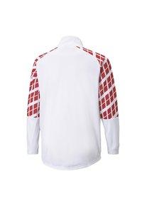 Puma - AC MILAN AWAY STADIUM YOUTH - Club wear -  white-tango red - 1