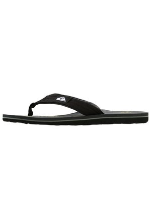MOLOKAI LAYBACK - Tongs - black/grey/green