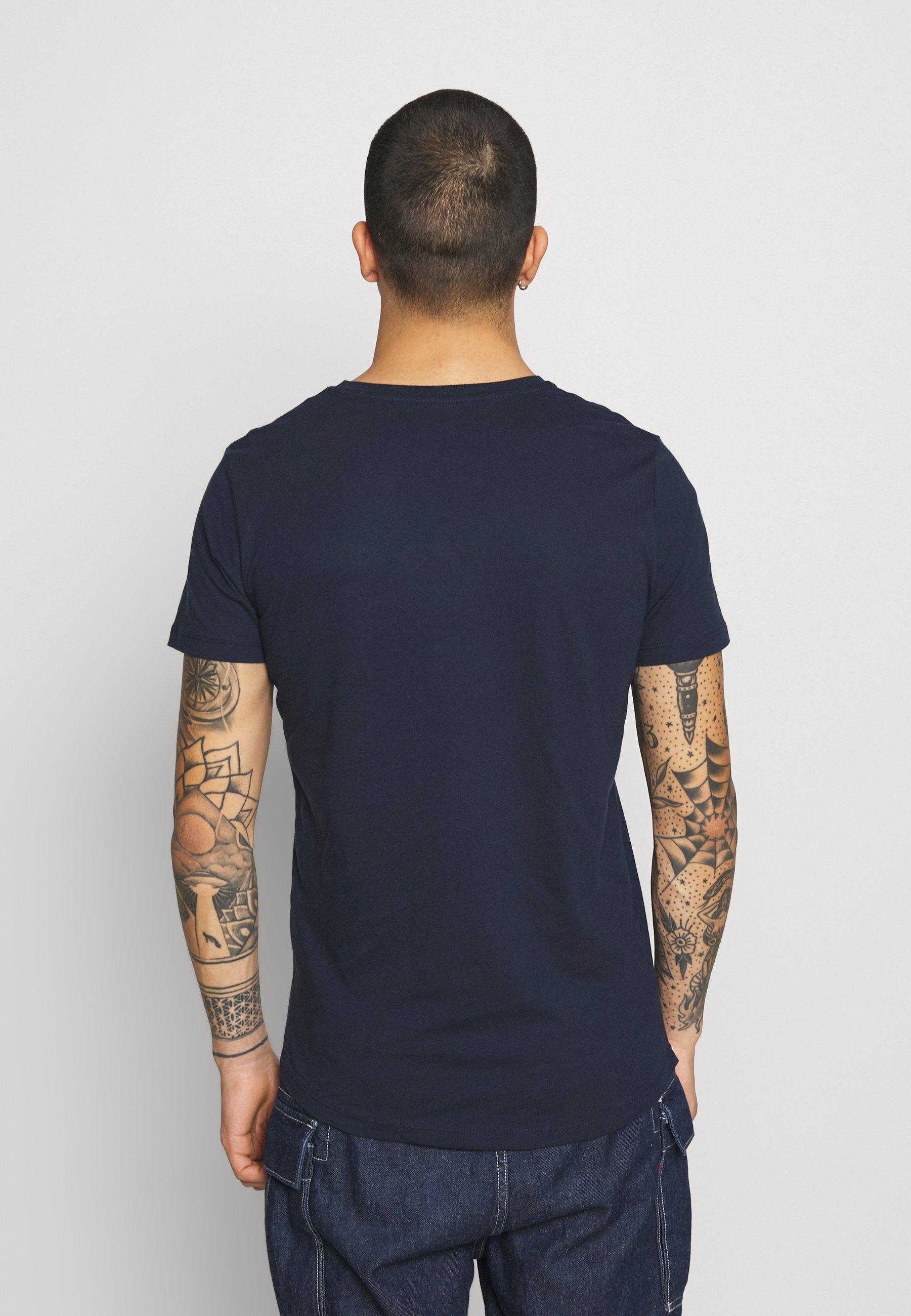 Homme JCOSCAN TEE CREW NECK - T-shirt imprimé