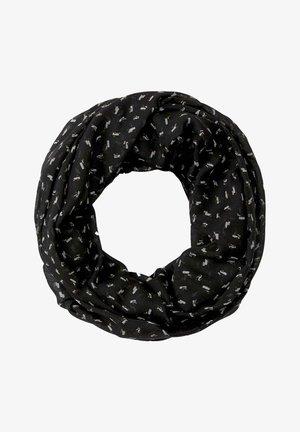Snood - black geometrical design