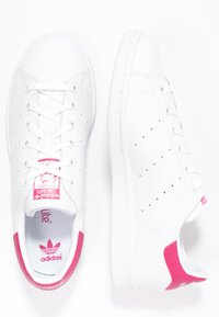 adidas Originals - STAN SMITH - Sneakers laag - white/bold pink - 1