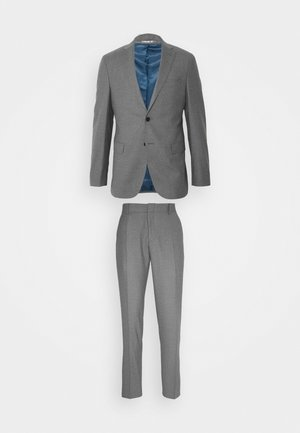 LOOK SLIM SUIT - Suit - grey