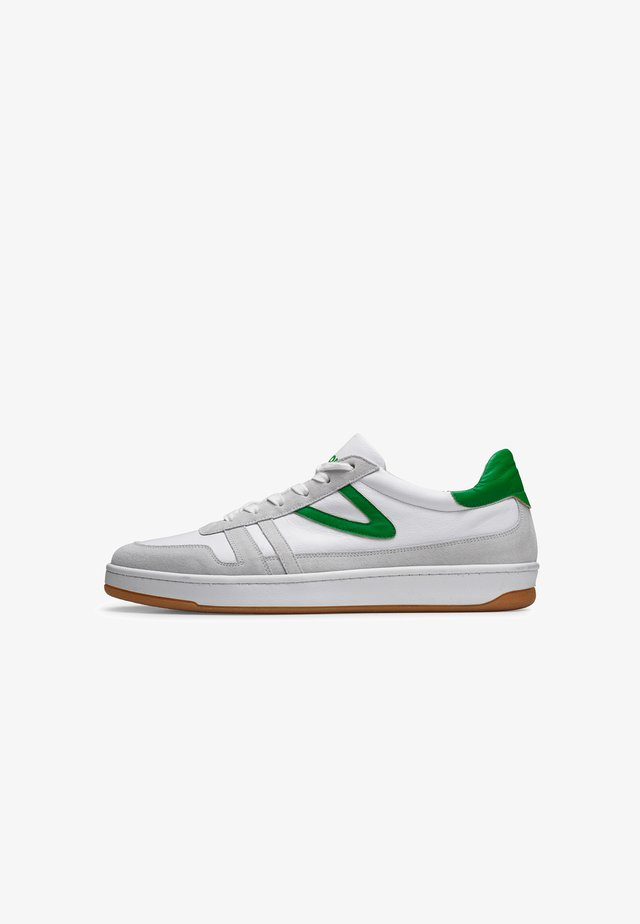 COURT CLAY M'S - Baskets basses - white/green