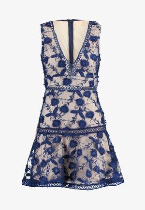 BLOSSOM DRESS - Cocktail dress / Party dress - navy