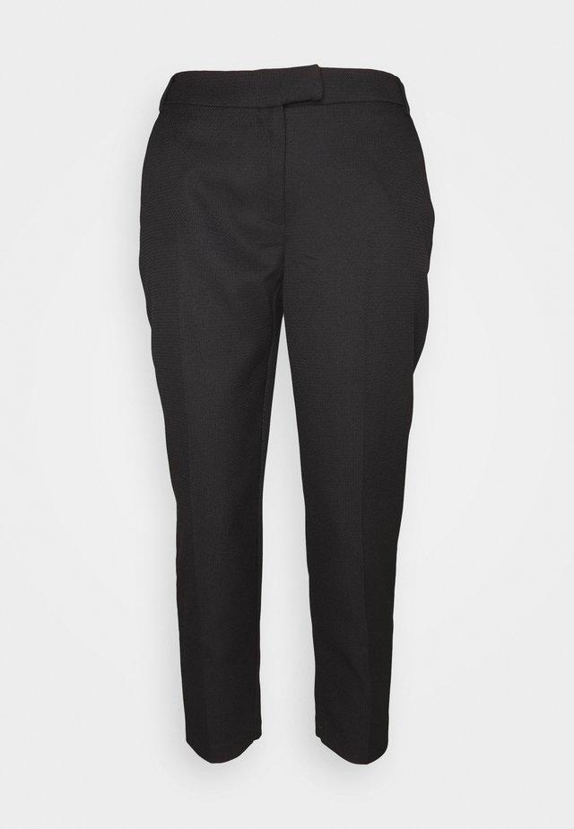 PETITES TROUSER - Pantaloni - black