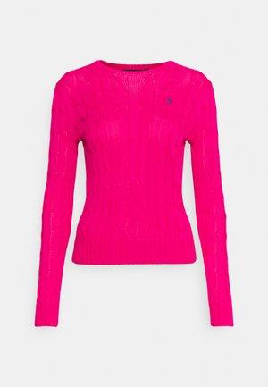 CLASSIC - Svetr - sport pink