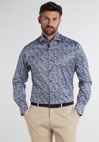 Eterna - MODERN FIT - Shirt - hellblau/marine - 0