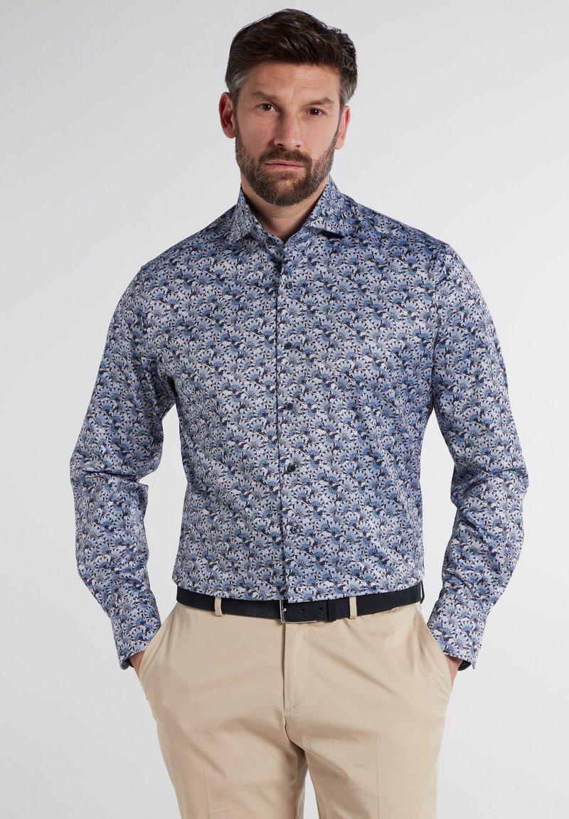 Eterna - MODERN FIT - Shirt - hellblau/marine