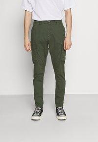 Lindbergh - Cargo trousers - khaki - 0