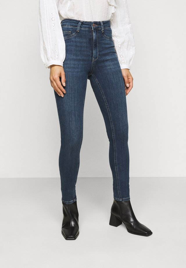 MOLLY PETITE - Jeans Skinny Fit - dark blue
