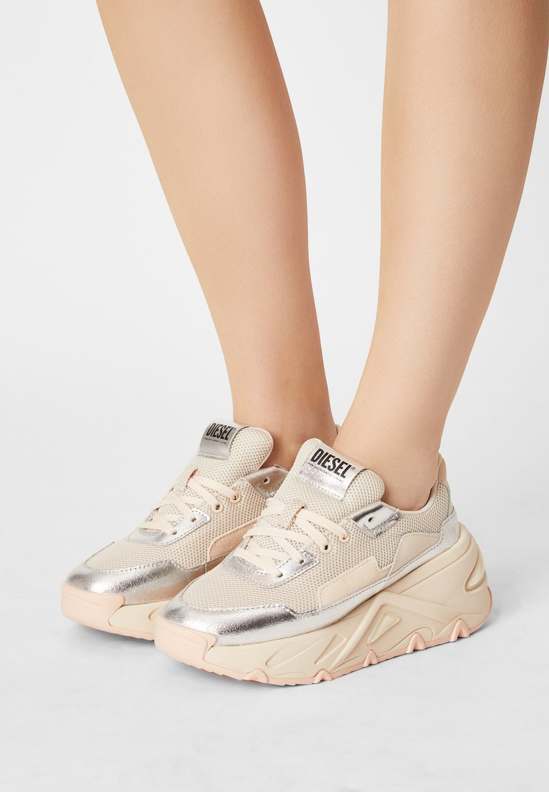 Diesel - S-HERBY LC - Trainers - silver